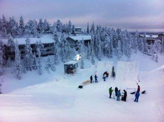 Anlage in Ruka, Finnland